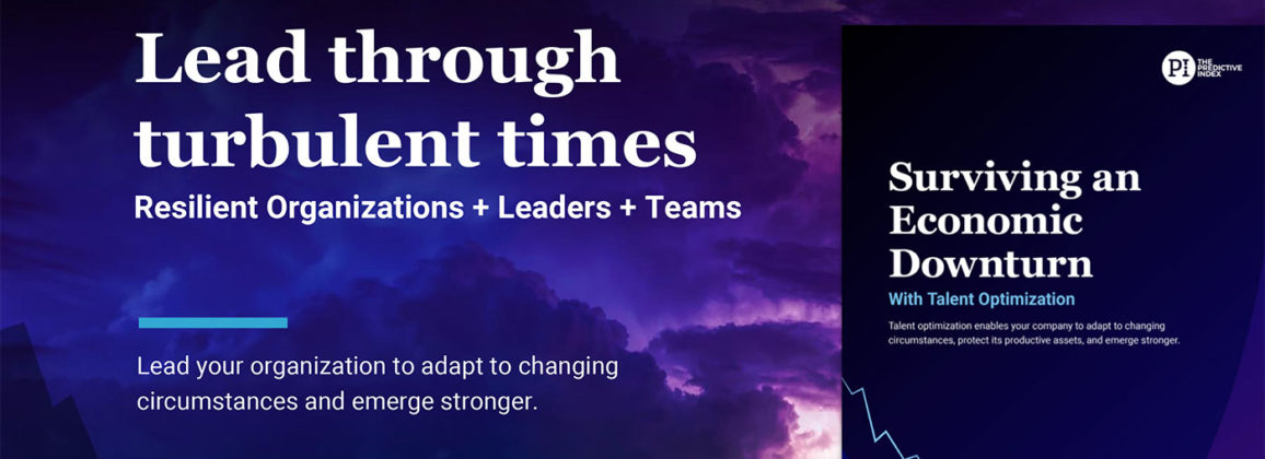 Lead Through Turbulent Times